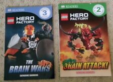 2 LEGO HERO FACTORY Paper Backs