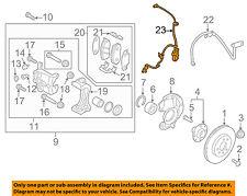 HYUNDAI OEM 12-14 Accent ABS Anti-lock Brakes-Front Speed Sensor 956711R000
