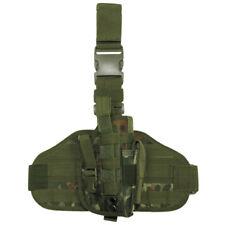 TACTICAL LEG HOLSTER MOLLE SYSTEM PANEL RANGE SHOOTING BW ARMY FLECKTARN CAMO