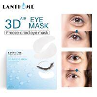 60Pcs Gold Hydrogel Eye Patch Firming Eye Covers Collagen Gel Under Eye Pads Set