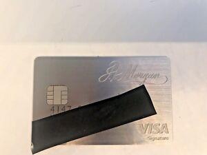 Genuine JP Morgan Palladium Card