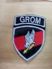 Patch TOPPA GROM 2 POLONIA POLAND ARMY ESERCITO SPECIAL FORCE FORZE SPECIALI