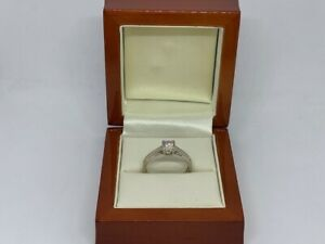 0.33ct Diamond 9ct White Gold Ring