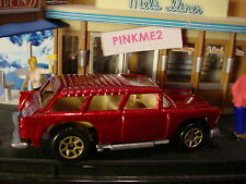 1995 50'S FAVORITES Design '55 CHEVY NOMAD✰red; gold 7sp✰Hot Wheels loose