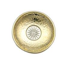 Decorative Metal Plate, Handmade, Sun of Vergina or Star of Vergina Design