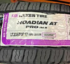 2 New LT 235 80 17 LRE 10 Ply Nexen Roadian AT Pro RA8 Tires