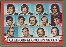 1973-74 Topps California Golden Seals Team Hockey Card#95