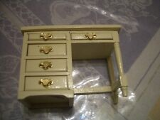 Concord Dollhouse Yellow Desk (Assorted Colors In Diff Listings) #6251Wp M/0B!