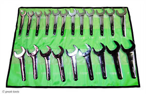 21-PC HYDRAULIC WRENCH SET – sae – standard – jumbo service wrenches