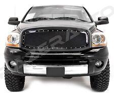 06-08 Dodge Ram 1500+06-09 RAM 2500+3500 Black Packaged Mesh Grille+Rivet+Shell