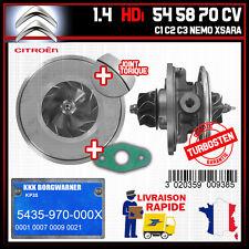 24H00 Cartouche Turbo Citroen C1 Nemo 1.4 HDi 54 58 70 CV 54359700001 5435980000