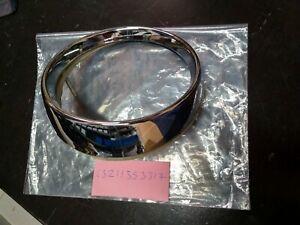 BMW E10 1600-2002tii tail light ring left chrome !NEW! GENUINE 63211353317