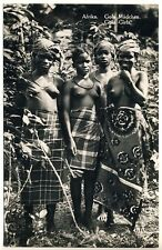 Sierra Leone PRETTY GOLA GIRLS / SCHÖNE MÄDCHEN * Vintage 50s Ethnic Nude RPPC