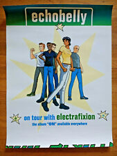 Echobelly (Sonya Aurora Madan) with Electrafixion, On album cartoon tour poster