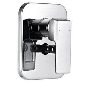 Thermostatic Concealed Lever Two Diverter Shower Valve Serrato Range -Valve Only