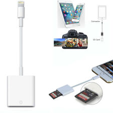 SD Card Reader & Micro SD To Lightning Cable Adapter for iPhone X 8 7 6 6S Plus