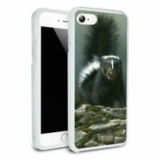 Curious Skunk Hybrid Rubber Bumper iPhone 7 and 7 Plus