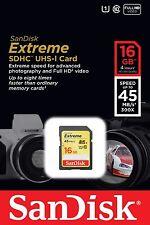 Sandisk 16G extreme C1 SD card for Nikon D750 D810 D610 D5600 D5500 D5400 D5300