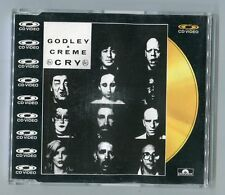 GODLEY & CREME CDV CD-Vidéo Single Cry © 1987 UK # PAL 080 010-2 - 5 tracks