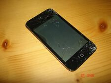 Apple Ipod Touch 4G 4st 4ª Generation Model A1367 - 8GB Negro **Pantalla Rota**