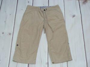 "Columbia Pants Hiking Outdoor Size 2 Capri 18"" Inseam Roll Up Bermuda Shorts"