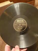 Vintage 25069 DECCA 78 RPM RECORD BODY AND SOUL/ALL OF ME Jimmy Dorsey