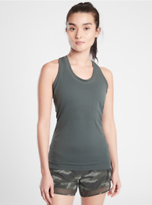 ATHLETA Momentum Tank Top XS in Bali Green | Running Workout Shirt, Fitness NWT