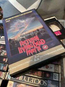 Return Of The Living Dead Part 2 Original Big Box VHS