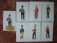 THE BRITISH ARMY SERIES - THE YEOMANRY CAVALRY (2).  6 card set.  Mint Condition