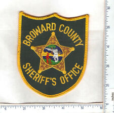for sale 1 vintage Broward County Sheriff's Office shoulder patch.