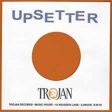 UPSETTER REPRODUCTION RECORD COMPANY SLEEVES - (pack of 10)