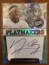 2013 Press Pass Playmakers Autographs Silver #KB Kenjon Barner 21/99