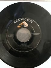 The Ames Brothers: 45 Vinyl - My Bonnie Lassie/So Will I