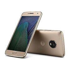"Motorola XT1676 Moto G5 5"" Smartphone 16gb Fine Gold 4g Unlocked Sim-"