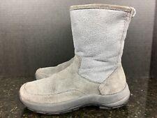 L.L. Bean Womens Insulated Boots Fleece Gray Size 10 M  #7