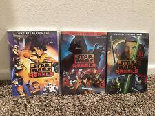Star Wars Rebels: Complete Animated TV Series Seasons 1 2 3  (11 DVD Discs) NEW