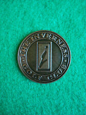 """The Inverness Golf Club Ball Marker 1"""" Metal Flat Coin Denver Englewood Colorado"""