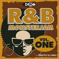DMC R&B Monsterjam Vol 1 Grandmaster Style Continuous Megamix Mixed DJ CD R'n'B