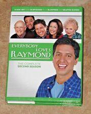 ~ Everybody Loves Raymond  2nd Season 2005 Tv Show Comedy Series 5 dvd Box Set ~