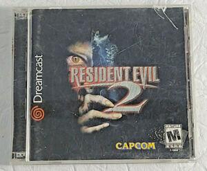 Resident Evil 2 Sega Dreamcast Game