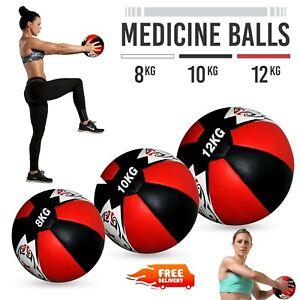 8kg/10kg/12kg Slam Ball No Bounce Fitness Boxing Extreme Strength Gym Training
