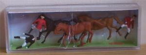 Faller 153026 HO Show Jumpers with Horses - New - damaged Box