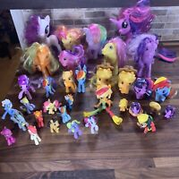 Lot Of 30+ Assorted MY LITTLE PONY Horse Figures Assorted Sizes