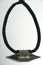 Collier pendentif boite argent Inde - silver box necklace India