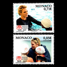 Monaco 2017 - 5th Anniv of the Princess Charlene of Monaco Foundation - MNH