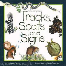 Take Along Guide TRACKS SCATS AND SIGNS Homeschool Science Nature Study Habitats