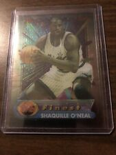 Shaquille O'Neal 1994-95 Topps Finest Iron Man Acetate #1 Magic Free Shipping