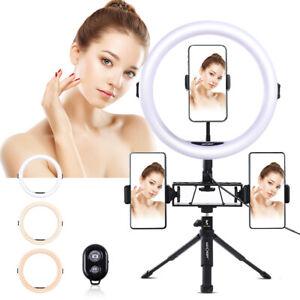 """K&F Concept 11""""LED Selfie Ring Licht für Smartphone Kamera YouTube Videoaufnahme"""