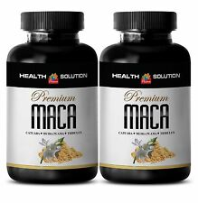 Maca Powder - PREMIUM MACA 1300MG - Maca Root Extract 2 Bottles 120 Tablets