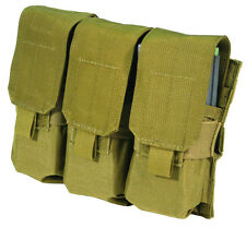 Blackhawk S.T.R.I.K.E. M4 Triple Mag Pouch (Holds 6,  with Speed Clips)